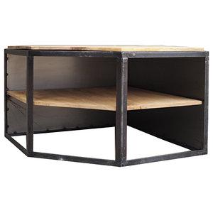 Ice Cube Mango Wood TV Stand
