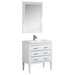 Transitional Bathroom Vanities And Sink Consoles by Fine Fixtures