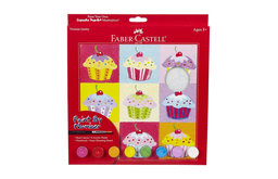 Faber-Castell Paint By Number Cupcake Pop Art