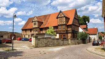 denkmalgeschütztes Fachwerkhaus in Walbeck