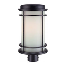 Most popular modern post lights for 2018 houzz dolan designs 1 light outdoor post mount winchester post lights mozeypictures Choice Image