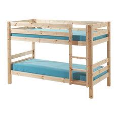 Pino Low Bunk Bed, Natural