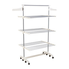 Rolling Drying Rack, Stainless Steel