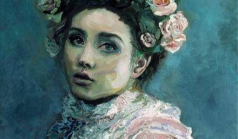 """Elena, The Wanderer"" Acrylic on Canvas"