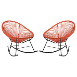 Midcentury Outdoor Rocking Chairs by Joseph Allen Home