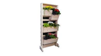 Вертикальный стеллаж для выращивания растений