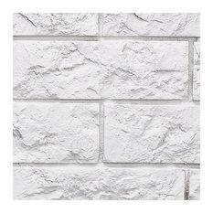 SAMPLE  Small Jerusalem Brick Wall Panel, Stone White