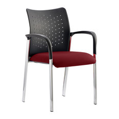 Academy Bespoke Office Chair, Maroon, With Arms