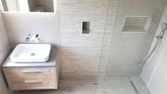 Wet Rooms- Tiled Floor