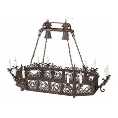 Silao Wrought Iron Chandelier