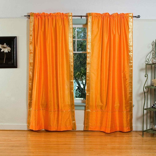 rod pocket sari curtains sari panels sari drapes curtains