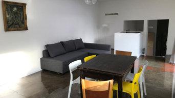 Split-Level Apartment