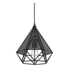 Loft Art Deco Vintage Wire Pendant Kitchen Chandeliers, Oil Rubbed Bronze   Pendant  Lighting