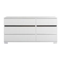Dream White 6D Dresser