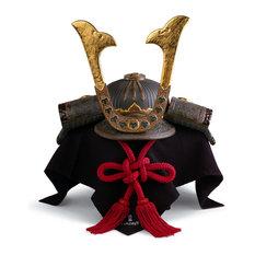 Lladro Samurai Helmet Figurine