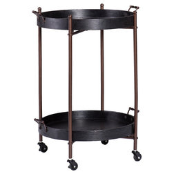 Transitional Bar Carts by SEI