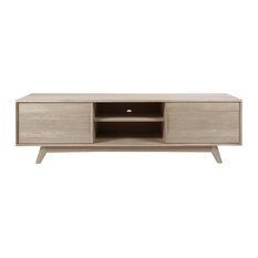Marta TV Table, White Stained Oak