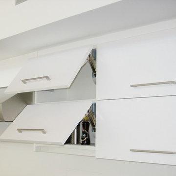 Kitchen Vertical Lifting Cabinet Doors