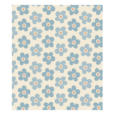 Lola Small Big Flower PVC Tablecloth, 140x140 Cm