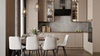 Дизайн интерьера квартиры в КП Привилегия