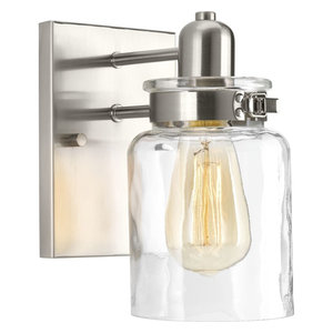 Calhoun Collection 1-Light Bath and Vanity, Brushed Nickel