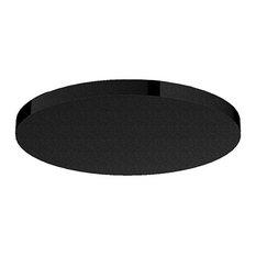 JEE-O Slimline Shower Head, Structured Black Stainless Steel
