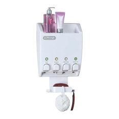 better living products better living ultimate dispenser iv shower caddy shower caddies