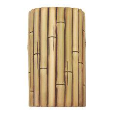 Bamboo Wall Sconce Natural