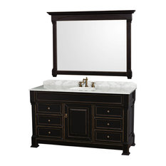 "Wyndham Collection WCVTRAS60SUNDM56 Andover 60"" Vanity Set"