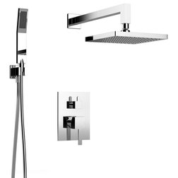 Contemporary Showerheads And Body Sprays by BATHROOM PLACE