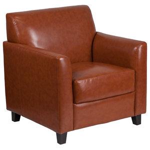 Flash Furniture Hercules Diplomat Series Cognac Leather Chair