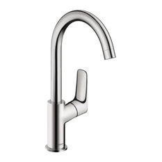 Hansgrohe USA   Hansgrohe 71130 Logis Single Hole Bathroom Faucet, Chrome    Bathroom Sink Faucets