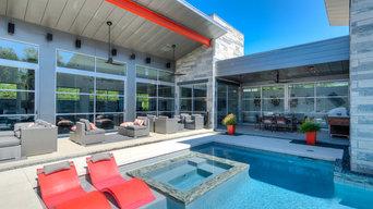 Sleek & Modern Pool