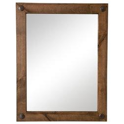 Rustic Bathroom Mirrors by Drakestone Designs