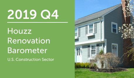 2019Q4 Renovation Barometer - Construction Sector