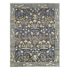 Rugsville Adeline Blue Handmade Wool Area Rug, 9x12