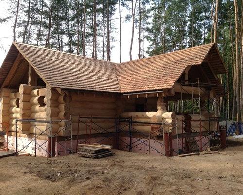 Баня из лиственницы Ликино - Строительство и ремонт