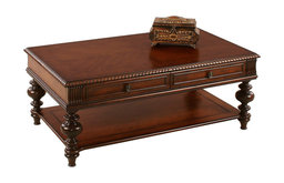 P587-01 Rectangular Castered Cocktail Table