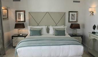 Retapizado de muebles e instalacion de cortinas en Hotel Le Mirage, Tanger