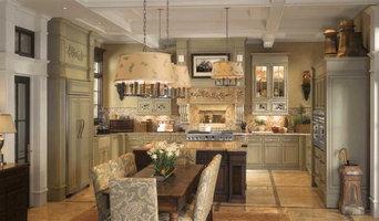 GE Monogram English Country Kitchen