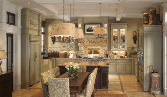 GE Monogram English Country Kitchen