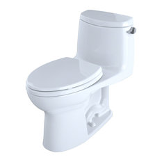 Toto UltraMax II Elongated One-Piece Toilet MS604114CEFRG#01 Cotton White