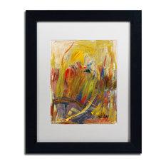 'Held In High Regard' Matted Framed Art, Black Frame, White Matte, 14x11