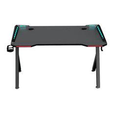 """Brindisi Gaming Desk, Black, 55"""""""
