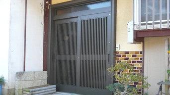 玄関引き戸交換 1dayリフォーム「リシェント」