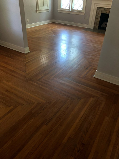 Patch Patterned Wood Floors Remove Walls