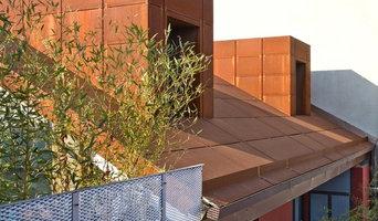 Progetto rivestimento palazzina in corten