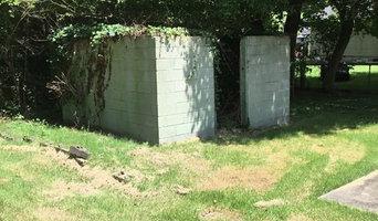 Cinder Block Shed Demolition and Removal