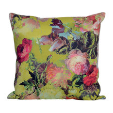 Jean Paul Gaultier, Decorative Pillow Mariee Pollen In Multi Color Yellow