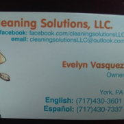 Cleaning Solutions, LLC's photo